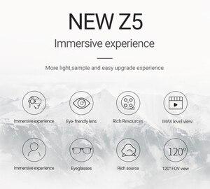 Image 2 - VR lunettes Z5 réalité virtuelle 3D VR audio visuel lunettes intégrées vr boîte poignée noire