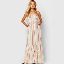 Женское элегантное уютное богемное платье топ труба с цветочным