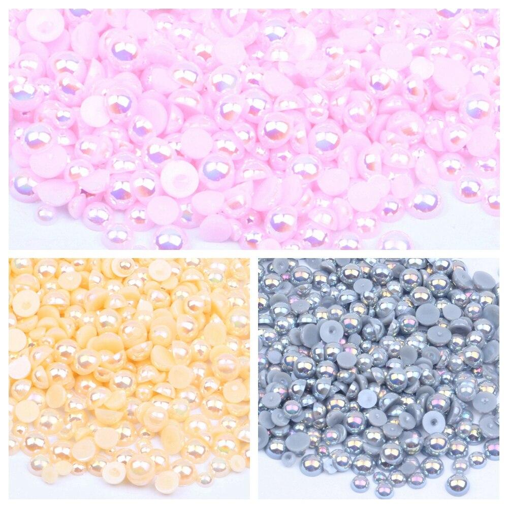 10x resin arte resina perlas lila beads joyas DIY bricolaje 12x13mm rs006