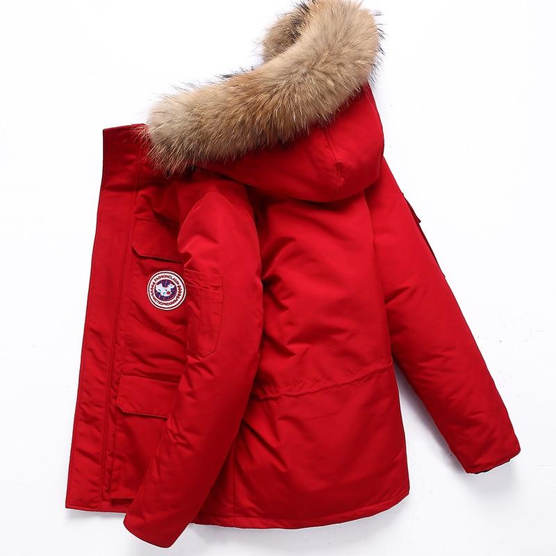 Winter Jacket Men Coat Parka Men Thick Warm Casual Fashion Men Clothes 2019 Men's Winter Jacket TJWLKJ