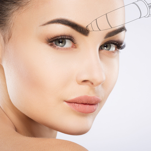 VIP DROPSHIPPING Lipstick Hair Removal Eyebrow Trimmer  Pen Painless Eye Brow Epilator