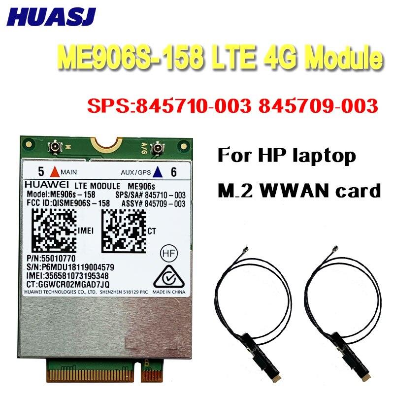 Huasj Mobile Broadband Card for HP LT4132 3G 4G LTE 150M HSPA + 4G Module Huawei ME906S ME906S-158 SPS:845710-003 845709-003