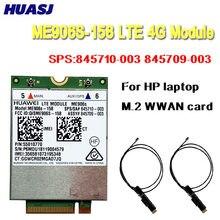 Huasj cartão de banda larga móvel para hp lt4132 3g 4g lte 150 m hspa + 4g módulo huawei me906s ME906S-158 sps: 845710-003 845709-003