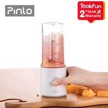 Pinlo Blender elektryczny kuchnia sokowirówka mikser przenośne jedzenie procesor ładowania za pomocą szybkie wyciskanie soku odciąć moc owocowy kubek
