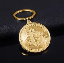 2021 mais novo bitcoin chaveiro banda música chaveiro pingente feminino e masculino jóias coleção presente