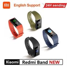Смарт браслет Xiaomi Redmi Band 4C с пульсометром, фитнес трекер, Bluetooth 5,0, водонепроницаемый, сенсорный браслет с большим цветным экраном