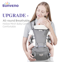 Baby Carrier Sunveno Sling Kangaroo Breathable Super-Comfortable Summer High-Quality