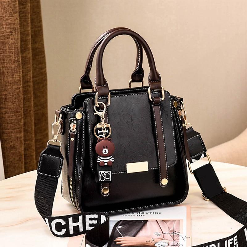 Women Bags 2020 NEW Fashion Handbags Women PU Leather Message Bags Female Casual Tote Ladies Crossbody Bags Bolsa Feminina