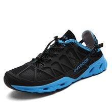 Zapatos de senderismo transpirables para hombre y mujer, calzado para deportes al aire libre, zapatillas antideslizantes para acampar, Trekking y escalada, Unisex