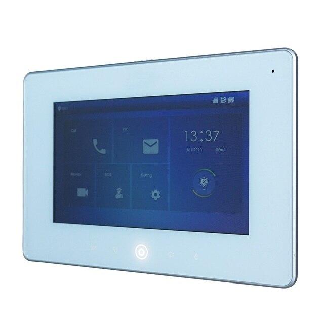 DH логотип DHI-VTH5221DW-S2 802.3af PoE 7-дюймовый WiFi внутренний монитор, IP дверной звонок монитор, видеодомофон, прошивка SIP
