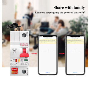 Image 5 - Smart Life(tuya) app 1P WiFi Smart Circuit Breaker overload short circuit protection with  Alexa google home for Smart Home