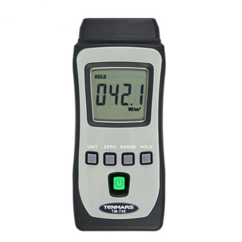 TENMARS TM-750 Mini Pocket Solar Radiation Power Tester Meter Solar Power Meters