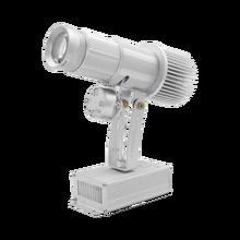 Yufan 35w personalizado logotipo da cor cheia luz projector carregamento da bateria logotipo luz do projetor