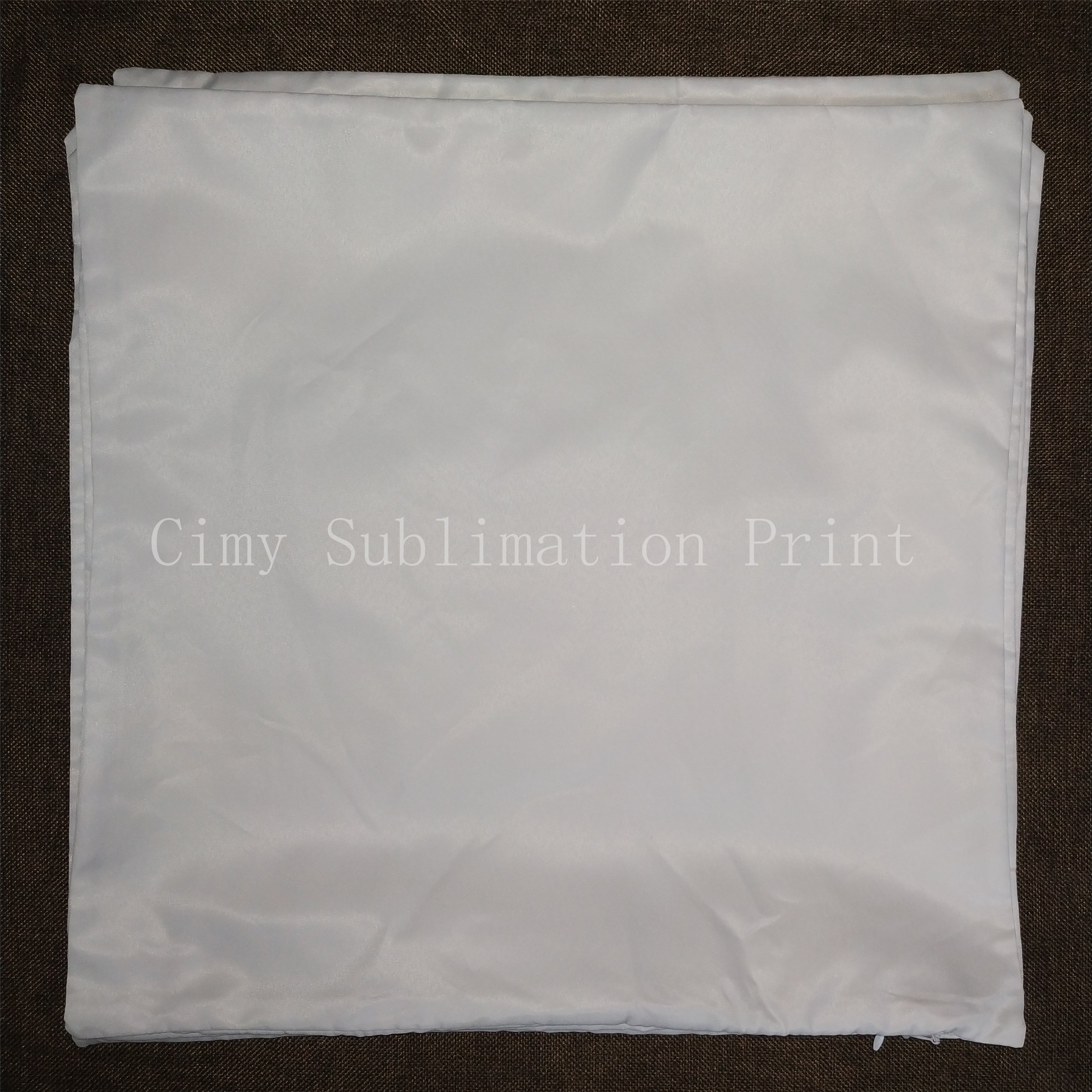 12pcs/lot 40x40cm Blank Sublimation Pillowcase For Sublimation INK Print DIY Gifts Heat Press Printing Transfer