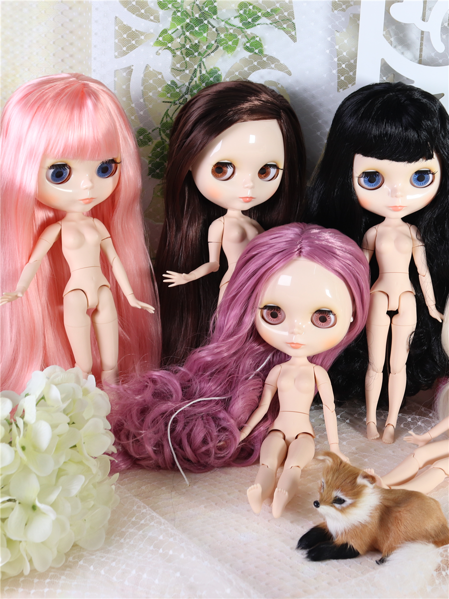 Toy Blyth-Doll Joint-Body ICY Face White Skin Bjd 30cm Special-Offer Factory On-Sale
