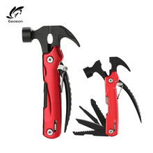 Geoeon Multi-Fungsi Camping Stainless Steel Tang Wire Stripper Kawat Cutting Tang Multitool Tangan Woodworking Alat A75(China)