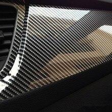 Высокоглянцевая 5D оберточная виниловая пленка из углеродного волокна для renault sandero opel astra renault kadjar ssangyong kyron для honda accord