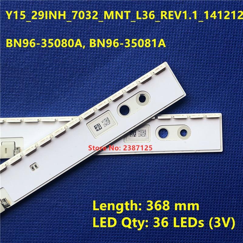 LED Backlight strip for Samsung 29'' TV 29SE790C BN96-35947A Y15_29INH_7032_MNT_L36_REV1.1_141212 BN96-35080A BN96-35081A