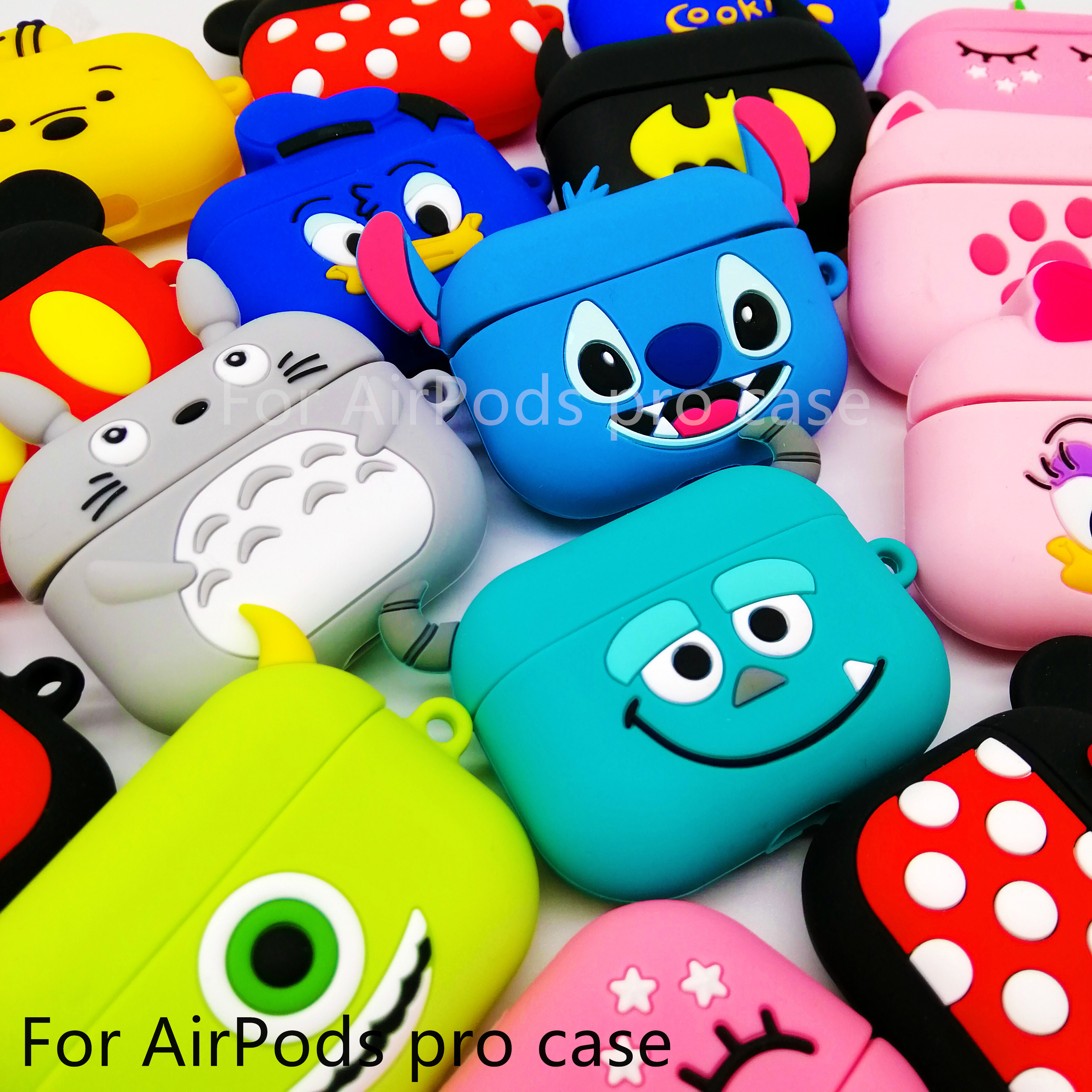 Cute For AirPods Pro Case Silicone Wireless Headphone Case Earphone For Apple Airpods 3 Pro Case Cover Accessories Protective