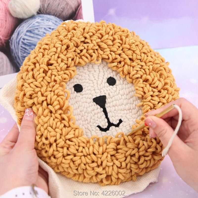 Набор «сделай сам», рукоделие для девочек, творческий Набор для творчества с вышивкой, образовательные игрушки для детей и взрослых, подаро...