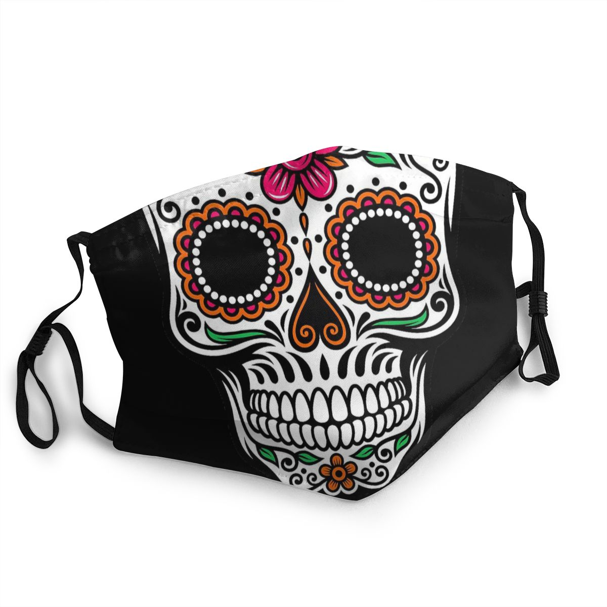 Skull Adult Reusable Mouth Face Mask Anti Haze Dust Mask Protection Mask Respirator Mouth Muffle