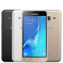 Desbloqueado samsung galaxy j3 (2016) j320 8gb lte telefones celulares android original gsm 4g duplo SM-J320 smartphone 8mp quad core