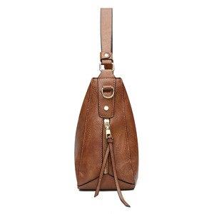 Image 2 - 럭셔리 가방 핸드백 여성 유명 브랜드 2021 유럽과 미국 여성용 메신저 가방 Hobos 디자이너 핸드백 Lady sac bolsa