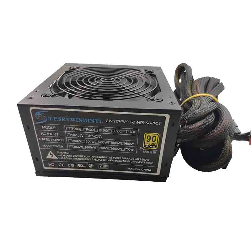 600W Switching Power Supply For Pc Desktop Gaming PSU  Active PFC Power Supply 24 Pin Interface Type Gaming Mini Itx Micro ATX
