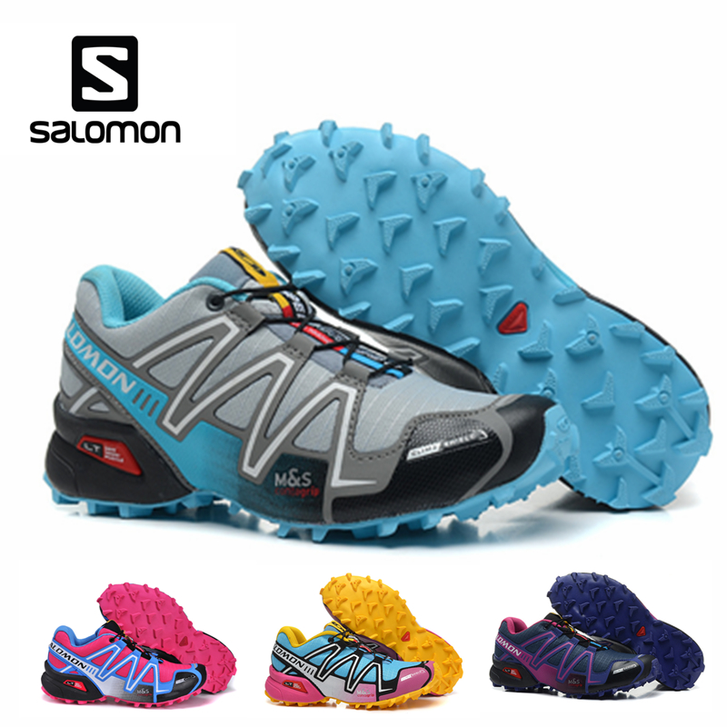 Salomon Speedcross 3 CS Sports de plein air femme chaussures respirant athlétisme Salomon femme Jogging course vitesse cross escrime chaussures