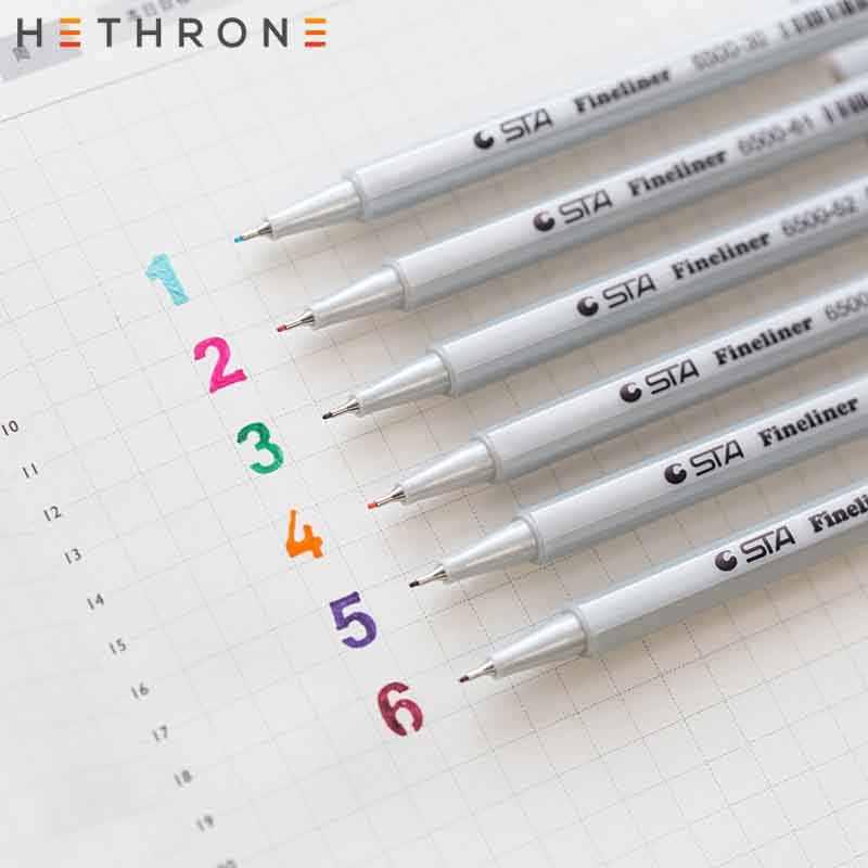 Hethrone 25 ชิ้น/เซ็ต Glitter Shining highlighter ปากกาที่มีสีสันชี้ปากกา MARKER อุปกรณ์ภาพวาดสำนักงานเครื่องหมายปากกา