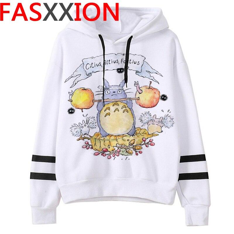 Totoro Studio Ghibli hoodies women streetwear grunge femme hoody sweatshirts hip hop streetwear 18