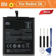 Аккумулятор для телефона Xiao Mi Xiaomi BN34 для Xiao mi Redmi 5A Redrice 5A 3000 мАч BN34 оригинальный сменный аккумулятор + инструмент