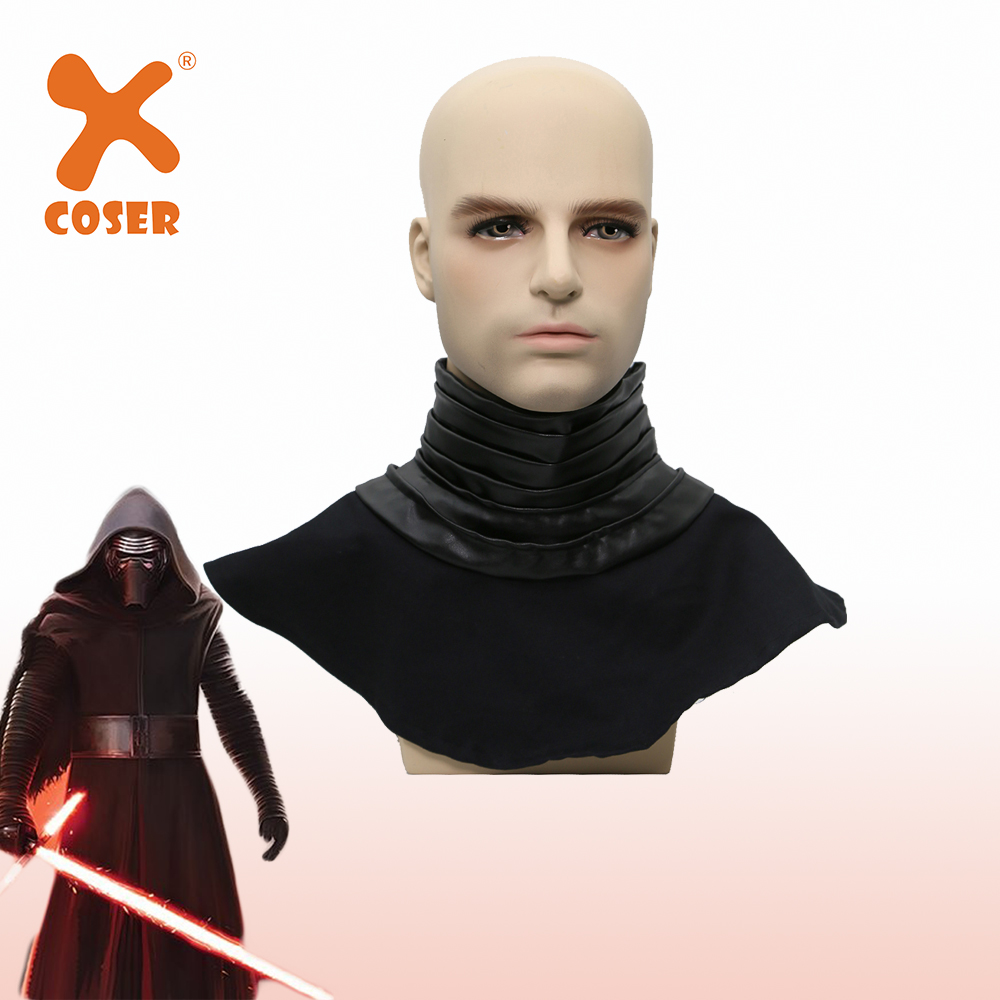 XCOSER Kylo Ren Neck Scarf  Cospaly Props The Force Awakens Costume Cosplay Accessories Wool Collar Scarf Halloween Party Cool