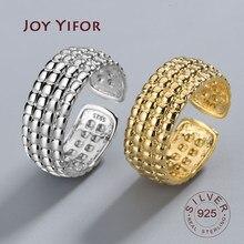 Bague en Argent Sterling 925 pour femmes, anneau ouvert irrégulier, Vintage, accessoires bijoux, goutte d'eau