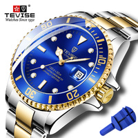 2019 Tevise Top Brand Luxury Men Mechanical Watches Famous Design Automatic Watch Fashion Male Clock Relogio Masculino T801