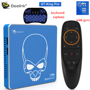 Beelink GT-King Pro Android 9.0 Smart TV BOX 4GB 64GB Amlogic S922X-H BT 4.1 2.4GHz+5.8GHz Hi-Fi Lossless Sound TV BOX In Stock(China)