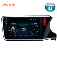 Seicane for 2014 2015 2016 2017 HONDA CITY Right Hand Drive Android 8.1 10.1 2din Car Radio GPS Multimedia Player support TPMS