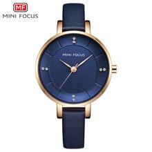 Minifocus 2020 модные женские часы Топ бренд Роскошные Кварцевые