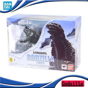 Original BANDAI Godzilla 2002 Tokyo SOS SHM S.H.Monster Arts 2019 Movie Godzilla2 Version SHF Action Figure Model Collection Toy