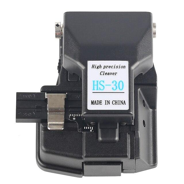 FTTH เครื่องมือ HS 30 Fiber cleaving เครื่องตัด high Precision CABLE CUTTER เครื่องตัดสำหรับ FUSION splicer