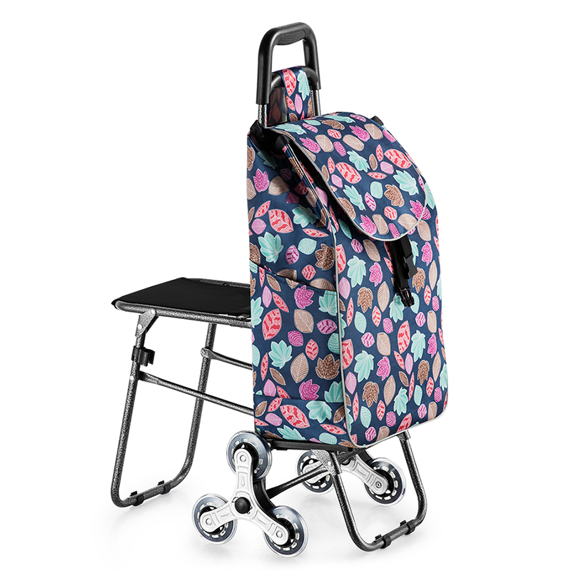 Trolley Shopping Cart Wheels Woman Shopping Cart Shopping Basket Household Shopping Bag Trolley Trailer Portable Cart Foldable