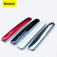 Baseus 4Pcs Car Door Guard Protector Door Edge Trim Guards Anti-Collision Strip Car Styling Moulding Anti-Scratch Sticker