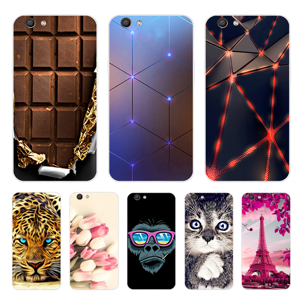 for <font><b>oppo</b></font> f1s Case Case Cover 5.5'' Silicone Soft TPU Cute Back Cover For <font><b>oppo</b></font> a59 f1s a59m <font><b>a1601</b></font> Phone Cases Fundas Coque A 59 image