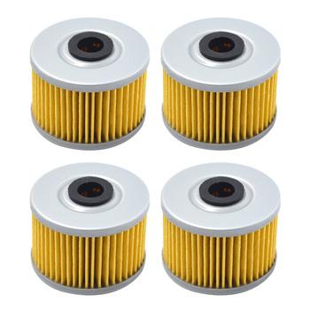4 sztuk FILTR OLEJU dla HONDA XLX w 250 XLX250 1983 1984 XR250 SUPER 250 1997-2004 XR250L XR 250L 1991 -1999 XR2500R 1982-2004 tanie i dobre opinie Filtry oleju Oil Filter Rubber Paper As the picture shown 100 New 1 438 in (37 mm) 1 969 in (50 mm) 0 469 in (12 mm)