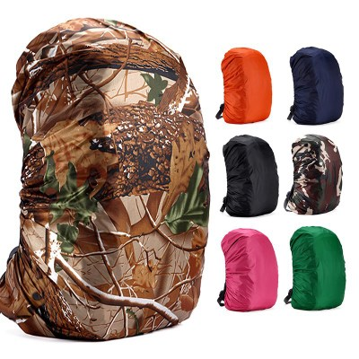 Hot Sale Raincover Backpack 35L Waterproof Bag Camo Tactical Outdoor Camping Hiking Climbing Dust Rain Cover New 2019