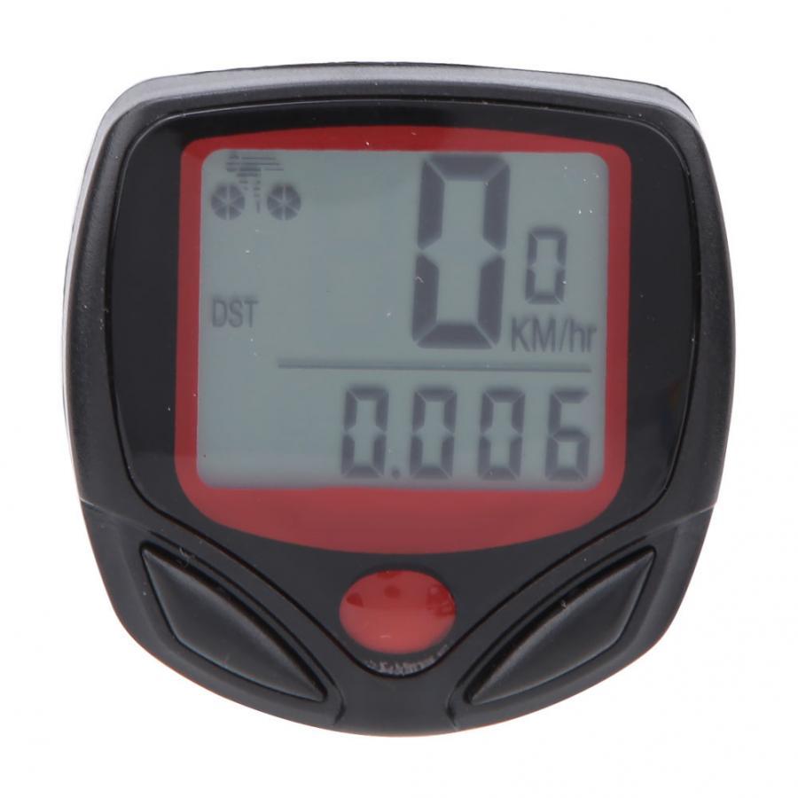 Bike Speedometer Wired Stopwatch With LCD Digital Display Waterproof Bicycle Odometer Speedometer Computer Cycling Stopwatch|Bicycle Computer| |  - title=