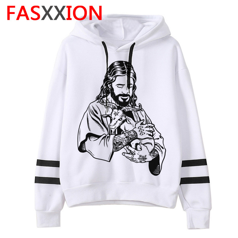 Satan Men/women Sweatshirt Lucifer Demon Death Scary Hoodies Evil Satanism Grim Reaper Baphomet  Satanist Male/female Hood
