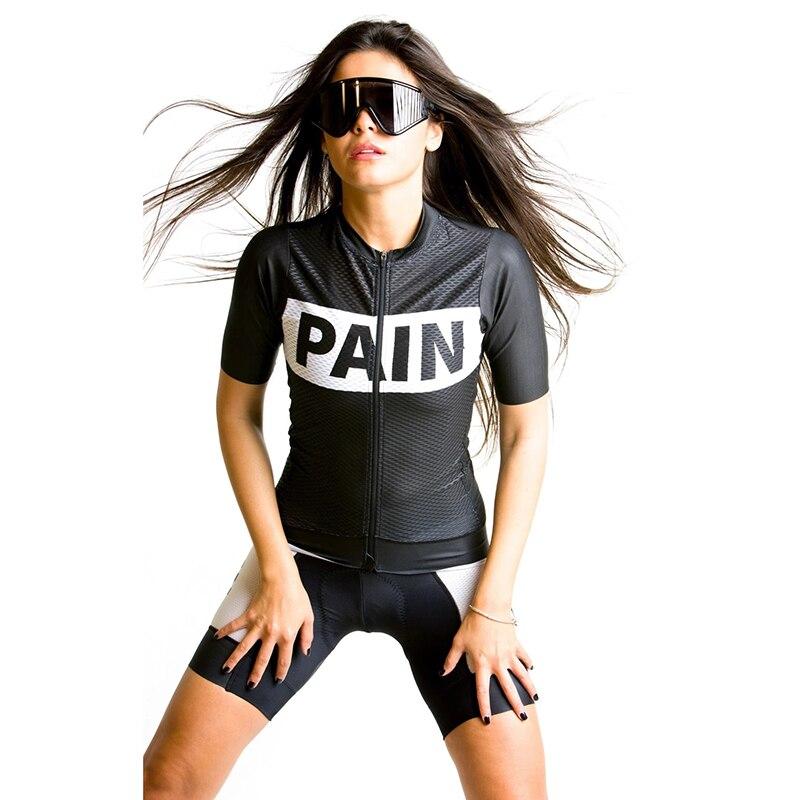 Amor a dor das mulheres bicicleta de estrada terno ciclismo roupas maillot ropa ciclismo verão manga curta jérsei definir roupas femininas bicicleta