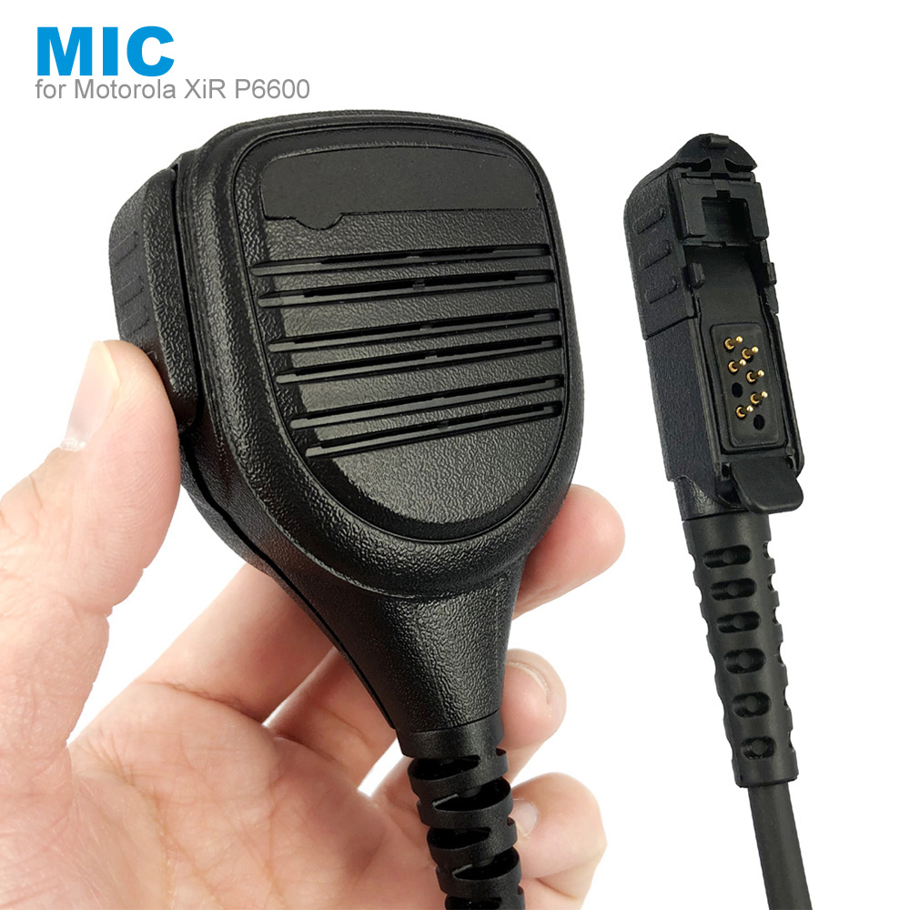 Speaker Mic Micphone For Motorola XiR P6600 P6620 DP2400 MTP3000 MTP3250 DEP550 DP2400 MTP3550 MTP3100 MTP3150 Walkie Talkie