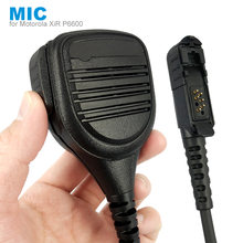 Speaker Mic Micphone for Motorola XiR P6600 P6620 DP2400 MTP3000 MTP3250 DEP550 DP2400 MTP3550 MTP3100 MTP3150 Walkie Talkie(China)